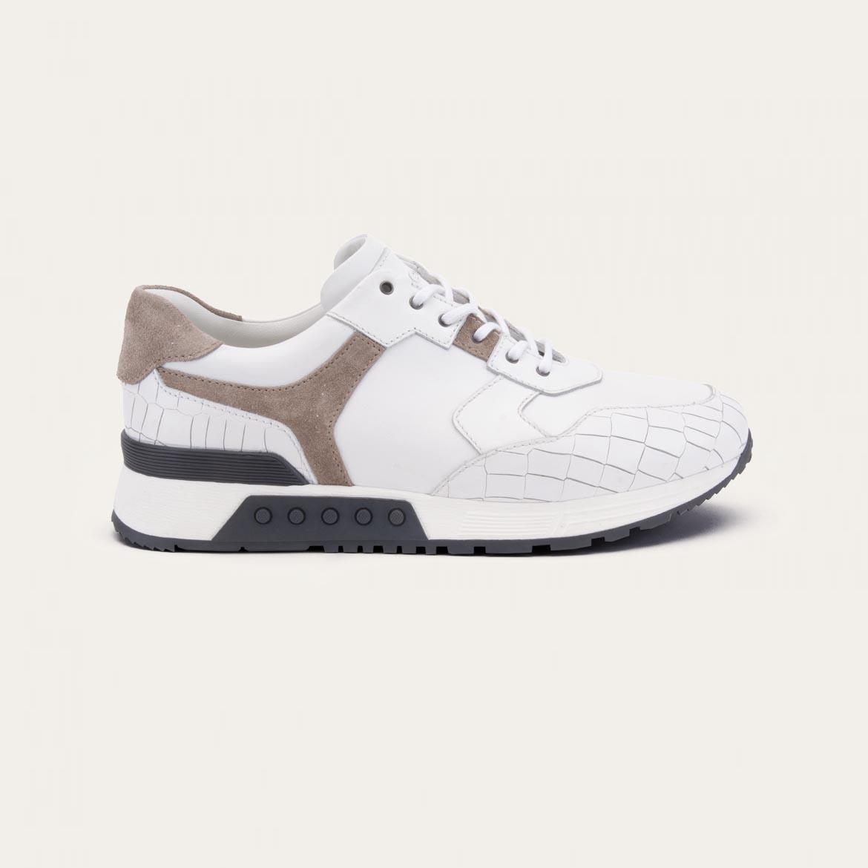 Greve Sneaker Haarlem White Nappa Leest K  4289.30