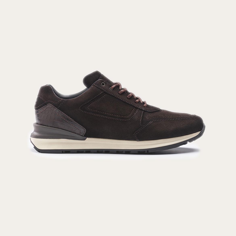 Greve Sneaker Podium Dark Brown Shade  7258.01