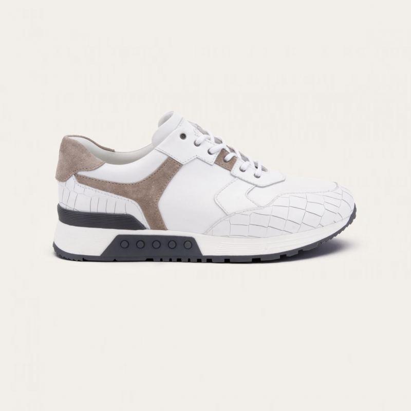 Greve Sneaker Haarlem White Nappa Leest K