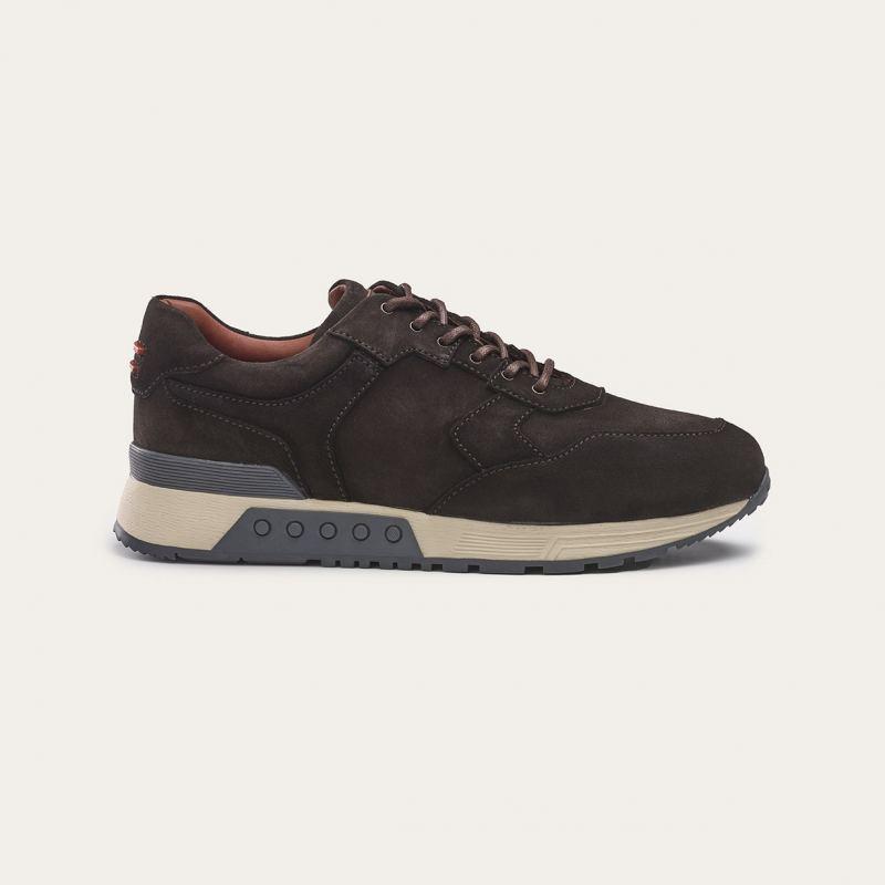 Greve Sneaker Haarlem Dark Brown Shade
