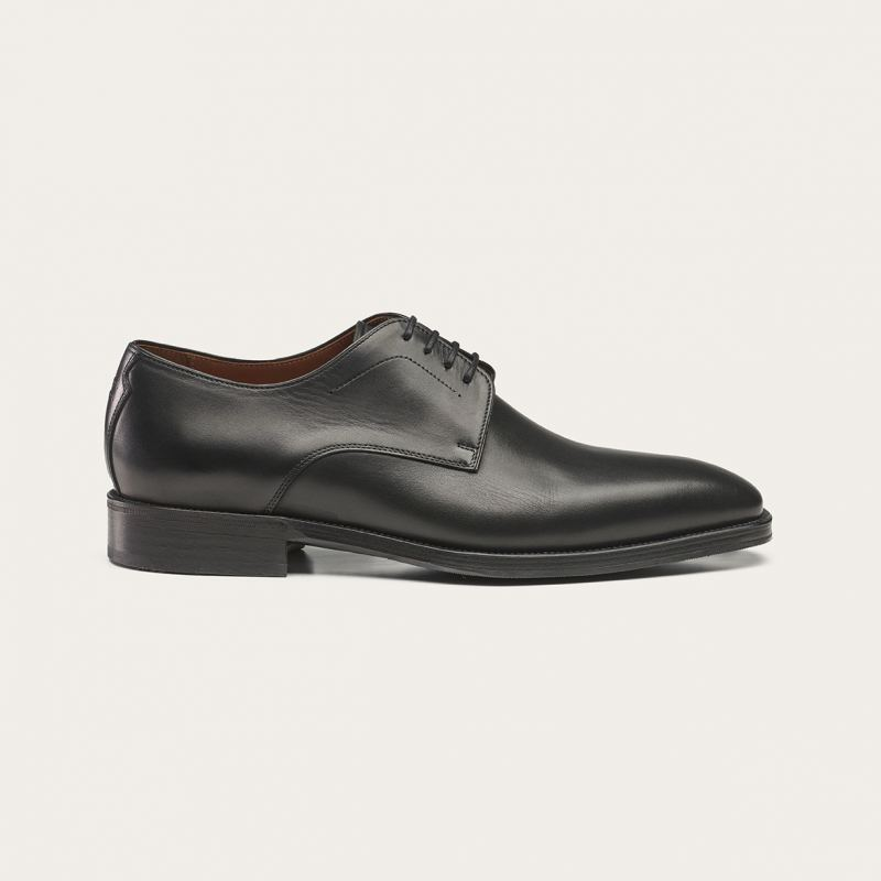 Greve Plain Derby Utrecht Black Patina Leest H